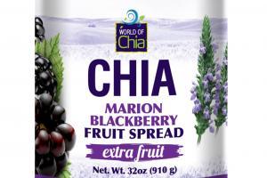 CHIA MARION BLACKBERRY FRUIT SPREAD