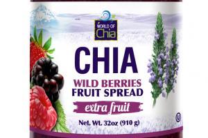 EXTRA FRUIT CHIA WILD BERRIES FRUIT SPREAD