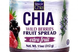 CHIA WILD BERRIES FRUIT SPREAD