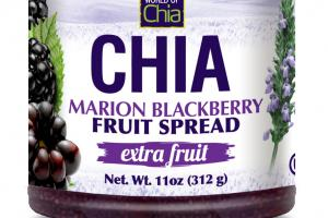 EXTRA FRUIT CHIA MARION BLACKBERRY FRUIT SPREAD