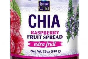 CHIA RASPBERRY FRUIT SPREAD