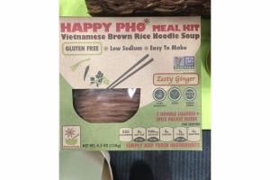 ZESTY GINGER VIETNAMESE BROWN RICE NOODLE SOUP