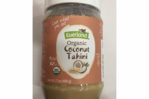 ORGANIC COCONUT TAHINI