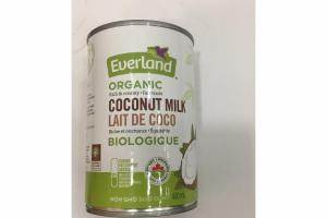 RICH & CREAMY ORGANIC COCONUT MILK