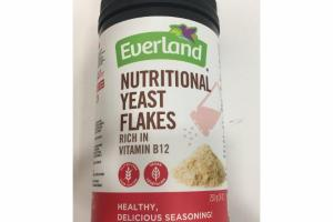 NUTRITIONAL YEAST FLAKES RICH IN VITAMIN B12