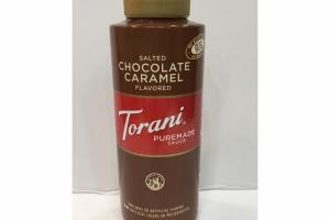 SALTED CHOCOLATE CARAMEL FLAVORED PUREMADE SAUCE