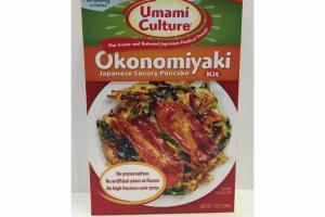 OKONOMIYAKI JAPANESE SAVORY PANCAKE KIT