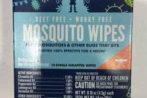 Mosquito Wipes