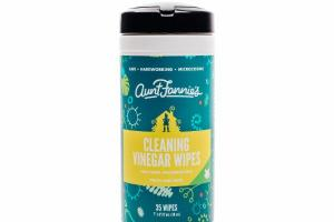 CLEANING VINEGAR WIPES, FRESH LIME MINT