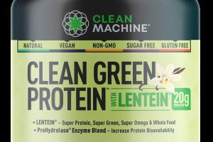 CLEAN GREEN PROTEIN WITH LENTEIN DIETARY SUPPLEMENT, VANILLA CHAI