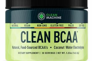 CLEAN BCAA COCONUT WATER ELECTROLYTES DIETARY SUPPLEMENT