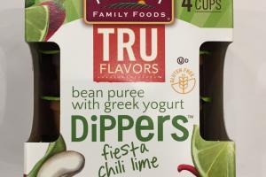 Dippers Bean Puree With Greek Yogurt