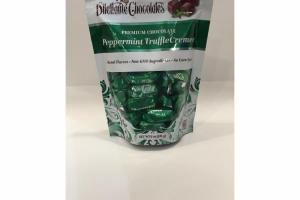 PEPPERMINT TRUFFLE CREMES PREMIUM CHOCOLATE