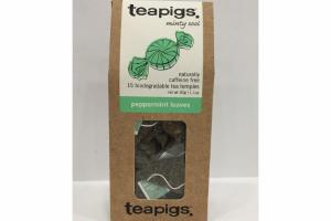 PEPPERMINT LEAVES TEA TEMPLES