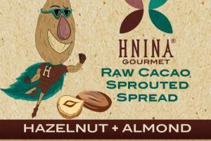 HAZELNUT + ALMOND RAW CACAO SPROUTED SPREAD