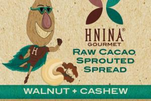 WALNUT + CASHEW RAW CACAO SPROUTED SPREAD