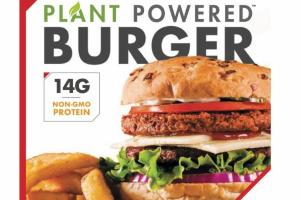PLANT POWERED MEATLESS FRIPAT BURGER