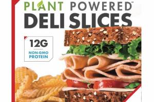 PLANT POWERED MEATLESS CHICKEN DELI SLICES