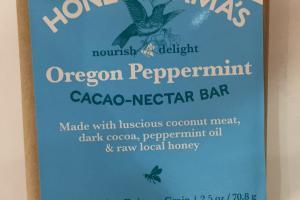 Oregon Peppermint Cacao-nectar Bar