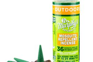 MOSQUITO REPELLENT INCENSE, ROSEMARY, PEPPERMINT, CITRONELLA, LEMONGRASS, CEDARWOOD