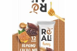 HONEY ALMOND CACAO NIB BAR