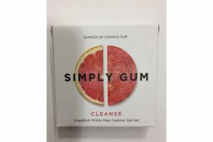 GRAPEFRUIT, PRICKLY PEAR, CAYENNA, SEA SALT CLEANSE CHEWING GUM