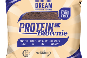 Double Choc Dream Chocolate Flavored Protein Brownie