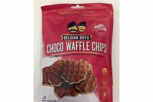 CHOCO WAFFLE CHIPS