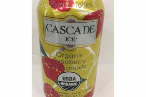 ORGANIC NATURAL RASPBERRY LEMONADE FLAVORED SPARKLING WATER