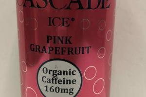 NATURAL PINK GRAPEFRUIT FLAVORED CAFFEINATED SPARKLING WATER