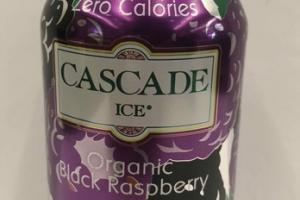 ORGANIC NATURAL BLACK RASPBERRY FLAVORED SPARKLING WATER