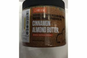 CINNAMON ALMOND BUTTER.