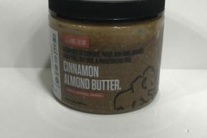 CINNAMON ALMOND BUTTER