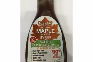 NATURAL MAPLE SYRUP