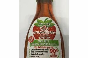 NATURAL WILD STRAWBERRY FLAVOR SYRUP