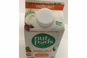 HAZELNUT NATURALLY FLAVORED ALMOND+COCONUT CREAMER