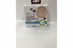 CHOCOLATE FLAVORED BREASTFEEDING HERBAL SUPPLEMENT DRINK