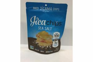 SEA SALT BAKED JICAMA CHIPS