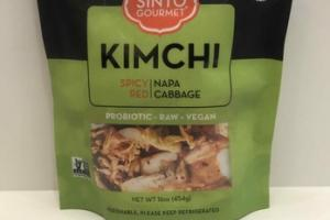 SPICY RED KIMCHI NAPA CABBAGE