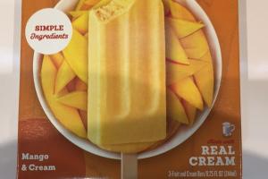 Fruit And Cream Bars