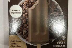 COLD PRESS COFFEE CHOCOLATE & REAL CREAM POPS