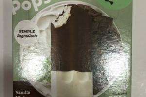 VANILLA MINT CHOCOLATE & CREAM BARS