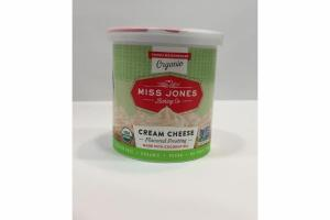 ORGANIC CREAM CHEESE FLAVORED FROSTING