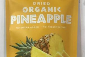 DRIED ORGANIC PINEAPPLE