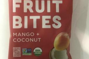 MANGO + COCONUT ORGANIC CHEWY FRUIT BITES