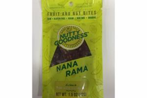 NANA RAMA FRUIT AND NUT BITES