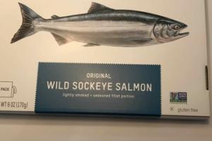 ORIGINAL WILD SOCKEYE SALMON