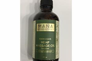 HAWAIIAN HEMP MASSAGE OIL