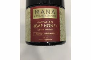 HAWAIIAN HEMP HONEY DIETARY SUPPLEMENT