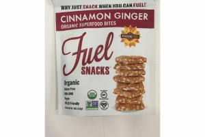CINNAMON GINGER ORGANIC SUPERFOOD BITES
